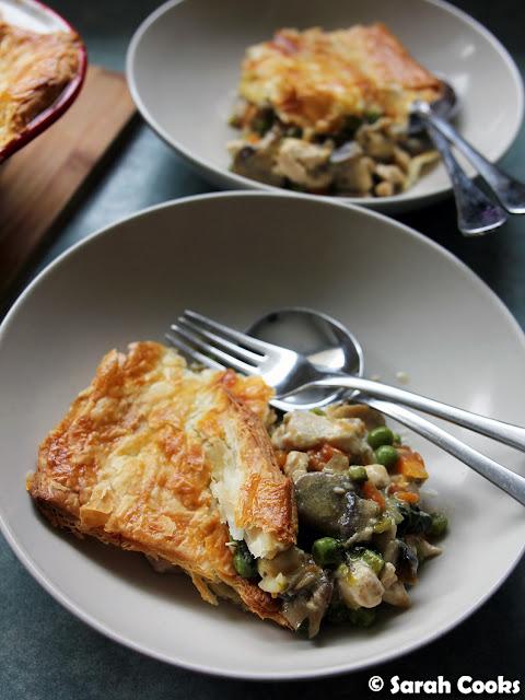 Chicken and Asparagus Pot Pie