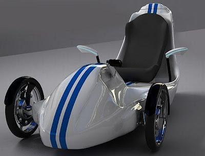 Trike un  triciclo o auto de tres ruedas eléctricos que revolucionaran el futuro