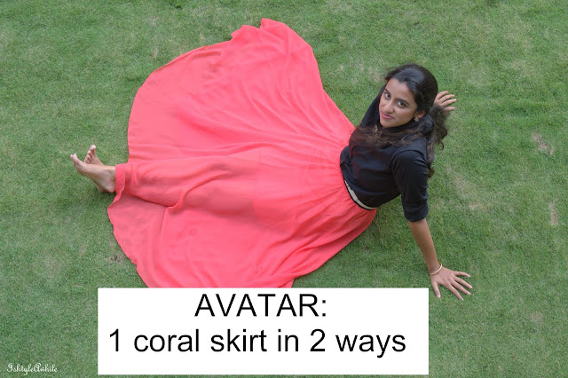 AVATAR #8: Styling a Coral Skirt in 2 ways image