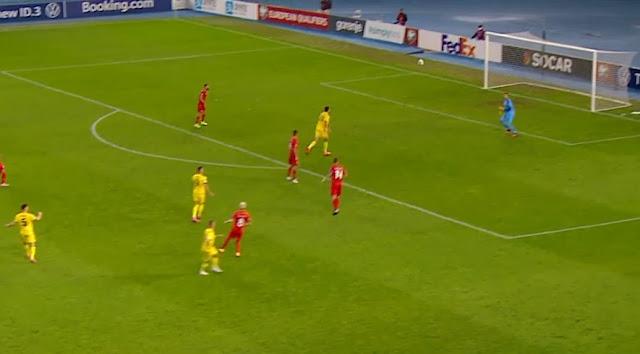 La UEFA mette l'albanese Florent Hadergjonaj in corsa per il miglior gol della settimana