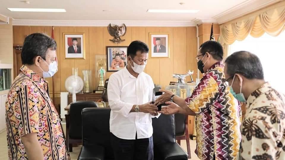Walikota Batam Terima Kunjungan DJP Kepri