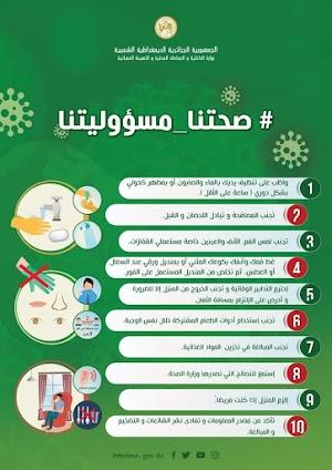 كيفية الحماية من فيروس كورونا بخطوات بسيطة