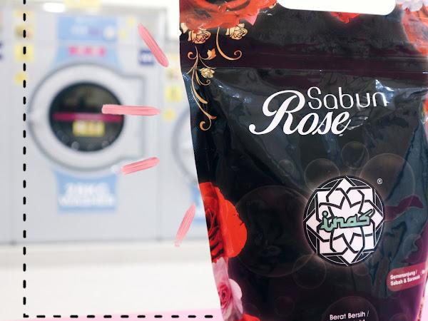 Sabun Inas Rose Champaca : Serbaguna Untuk Cucian Baju, Kereta, Kuali, dan banyak lagi
