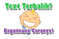 Text Terbalik Untuk Status Camfrog