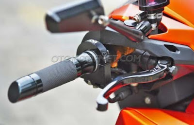 Modifikasi Honda Vario 150 eSP Orange Cool
