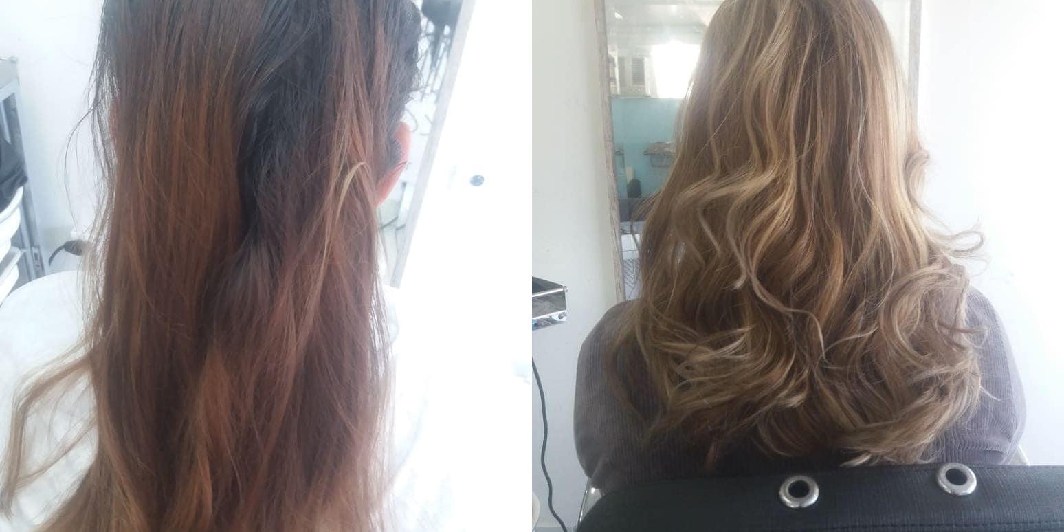 correção de cor hairstyle Jozi Santos _ Mamãe de Salto