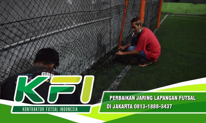Perbaikan Jaring Lapangan Futsal Di Jakarta