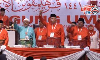 Pertama kali dalam sejarah Presiden PAS di pentas perhimpunan agung Umno