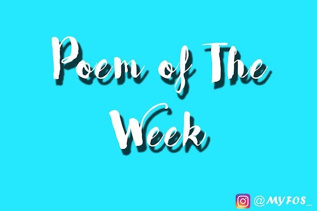 Poem of The Week #1 : Tenggelamkan Diriku