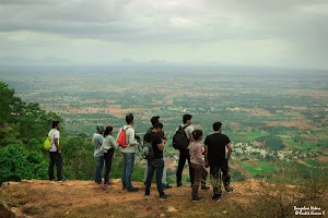 View from Makalidurga top