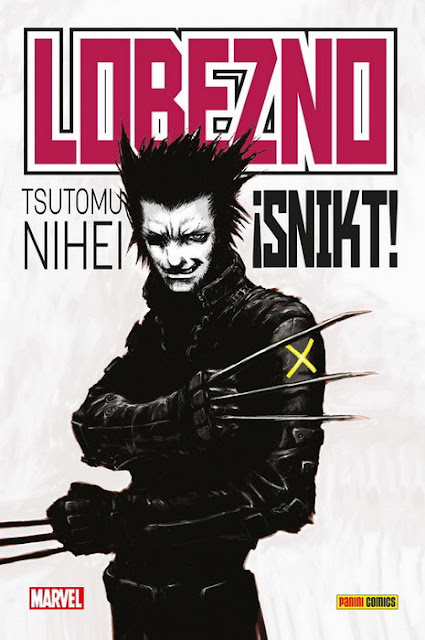 LOBEZNO ¡SNIKT! de Tsutomu Nihei - Panini Cómics