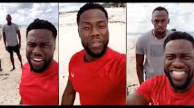 Kevin Hart mocks site for mistaking him for  Usain Bolt