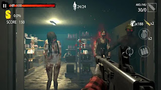 Baixe Zombie Hunter D-Day apk mod