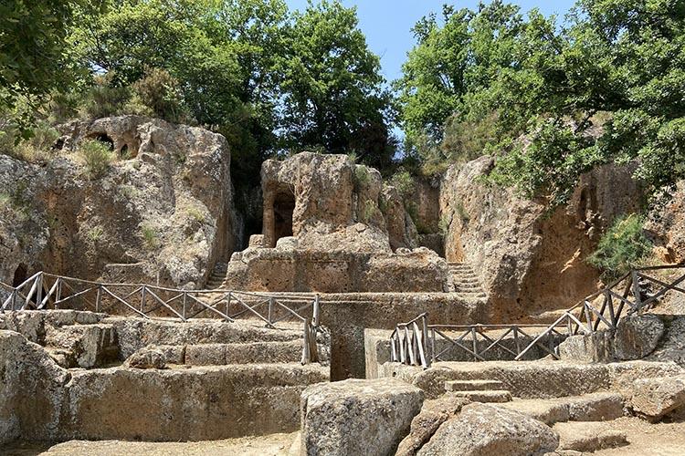 Il Parco Archeologico Città del tufo