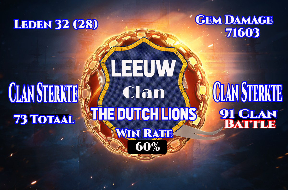 LEEUW WORLD OF WARSHIPS CLAN