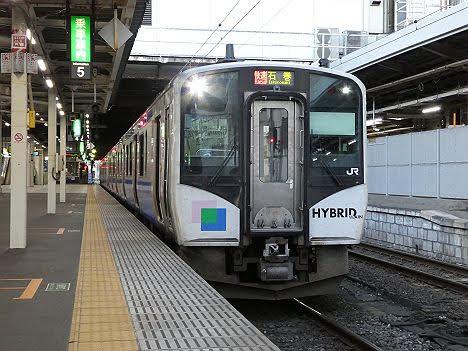 【ダイヤ改正で新設!】仙石東北ライン HB-E210系7 赤快速 石巻行き