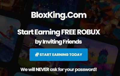 Blocks King com Free Robux On Roblox