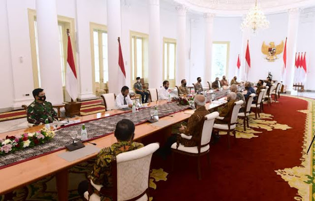 Purnawirawan TNI Minta ke Jokowi Pancasila Tak Diusik di RUU HIP