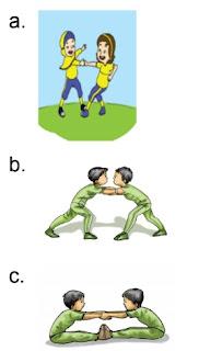 gambar latihan tarik menarik