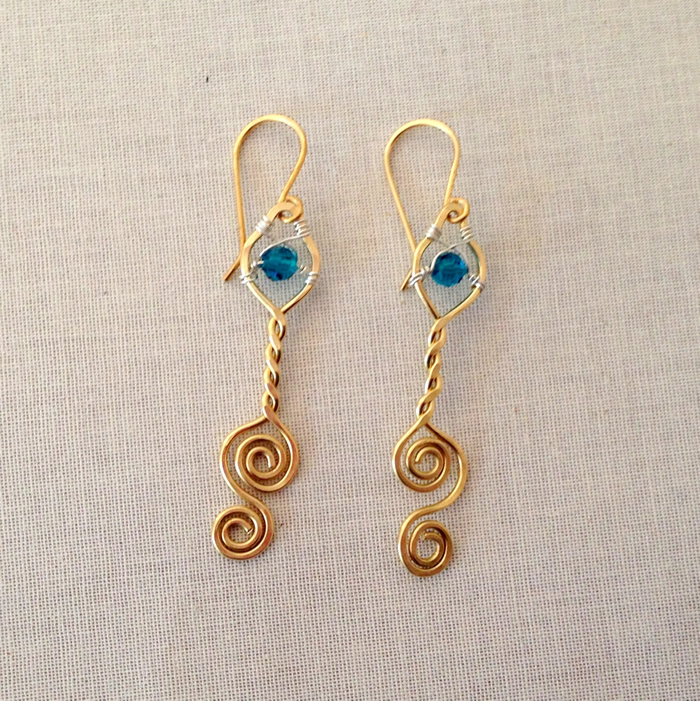 Free Earring Tutorial: Trying What's Most Popular on my Pinterest Boards: Lisa Yang's Jewelry Blog