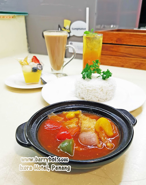 Sweet Sour Fish Delicious Set Menu at Ixora Hotel Penang Penang Blogger Influencer