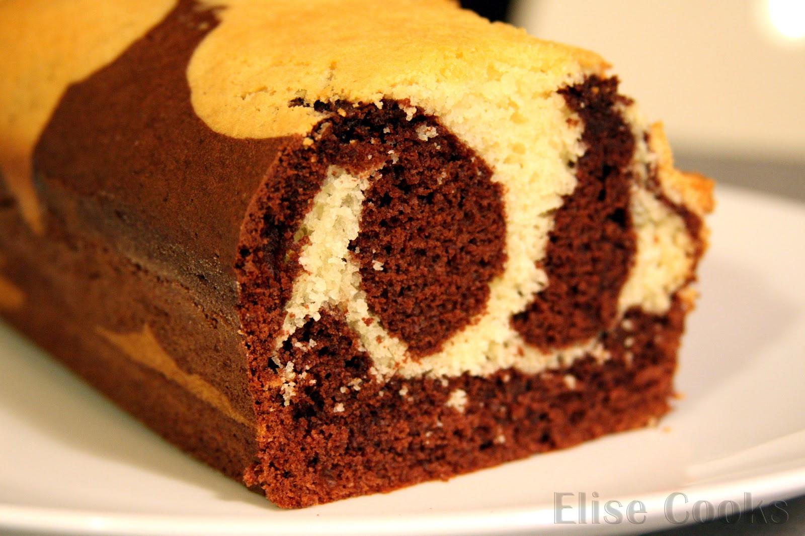 Cake Marbr Ef Bf Bd Confiture De Lait