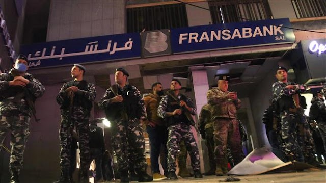 Bank attacked with explosive in Lebanon amid economic crisis