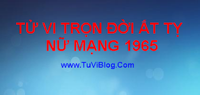 Xem Tu Vi Tron Doi At Ty 1965