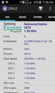 Spesifikasi HP Android