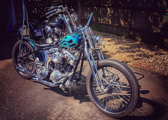Harley Davidson Shovelhead By Noble Custom Hell Kustom