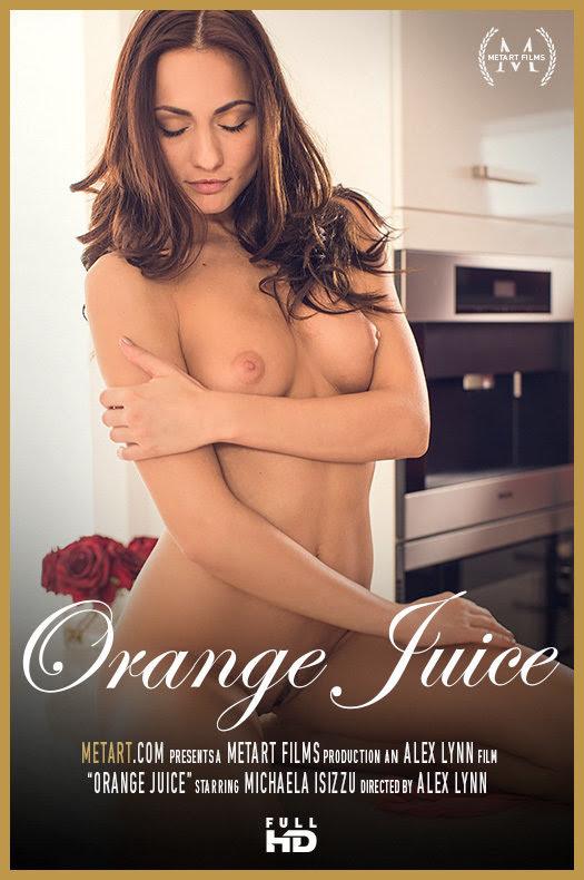 [Met-Art] Michaela Isizzu - Orange Juice
