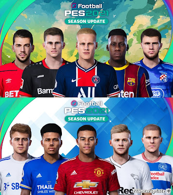 PES 2021 Extracted Facepack DLC 5.0