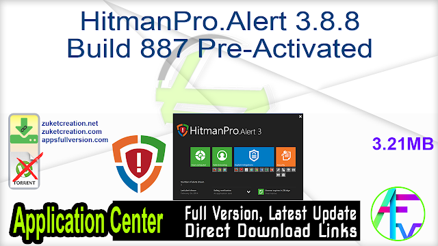 HitmanPro.Alert 3.8.8 Build 887 Pre-Activated