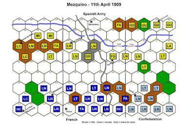 Battle of Santiago Martir, 11th April 1809