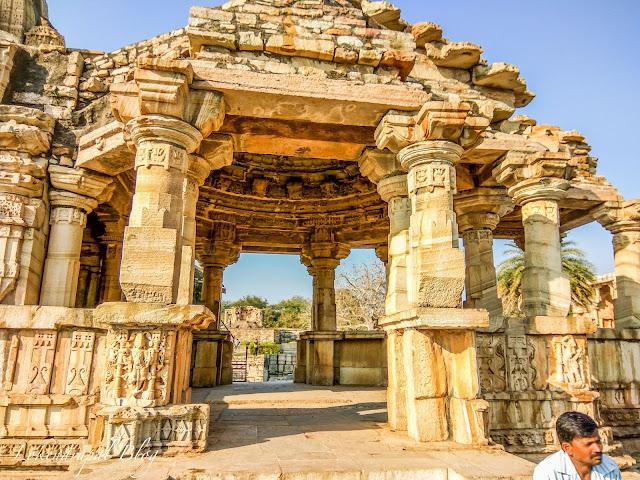 Ruin Structure, Chittorgarh Fort