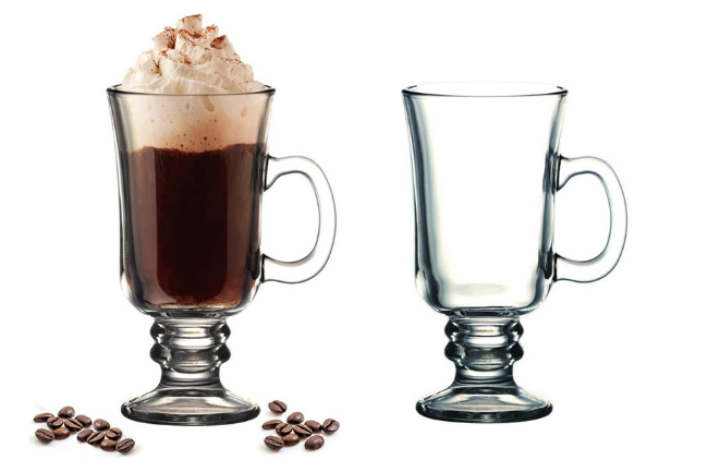 Xicaras de café irlandês
