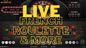 Live & Online NetEnt French Roulette Game