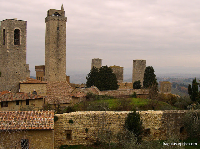 Torres medievais de San Gimignano, Toscana, Itália