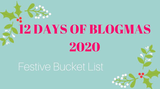 Festive Bucket List Blog Graphic