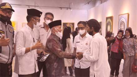 pameran empat pelukis kaligrafi Islam