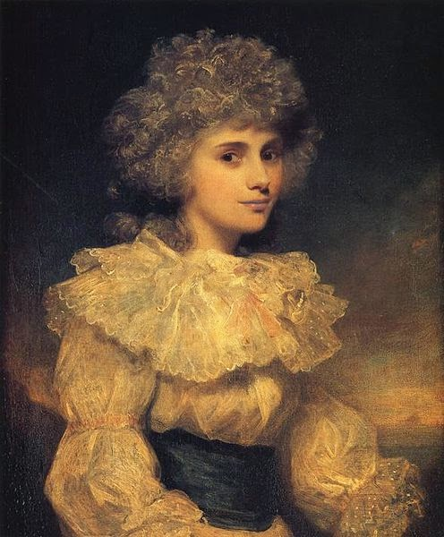 Lady Elizabeth Foster by Sir Joshua Reynolds, 1787