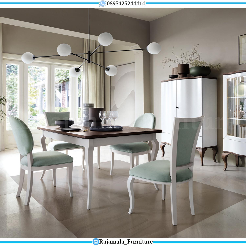 Harga Meja Makan Minimalis Terbaru Desain Luxury Simple Elegant RM-0130