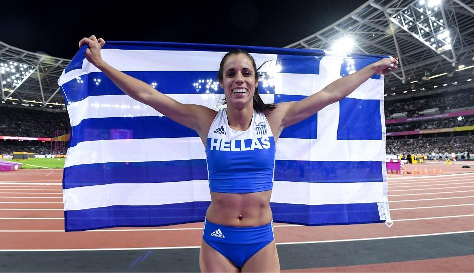Η Κατερίνα Στεφανίδη επέστρεψε με άλμα στα 4,61 μέτρα