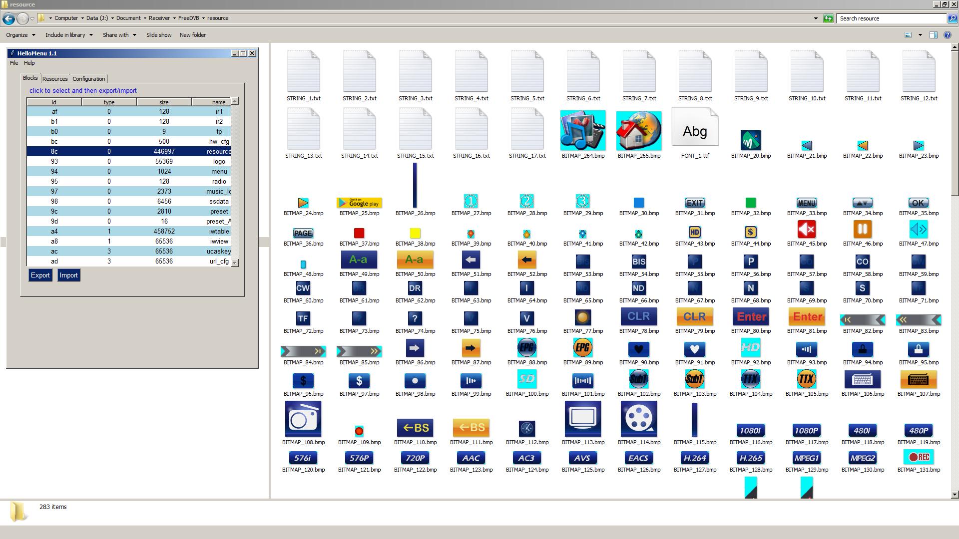 Download HelloMenu GUI Software Editor Skin Hellobox 8