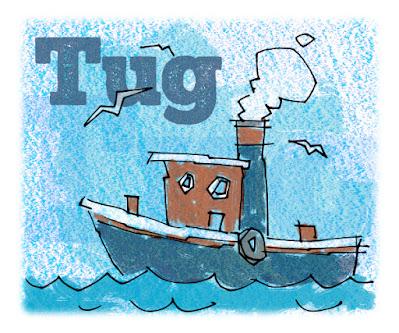 A tug boat