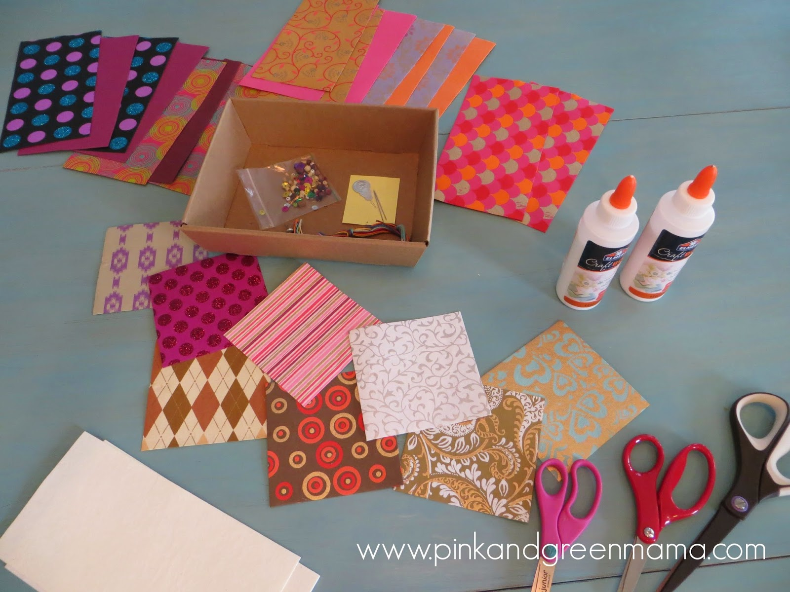 Pink And Green Mama Tween Craft Making Homemade Books
