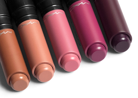 MAC Liptensity Lipsticks Review Well Bred Brown Clouds In My Coffee Ginger Rose Beetroot Noblesse