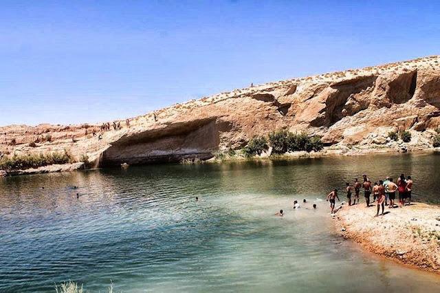 Lac de Gafsa: El misterioso lago que aparecía de la noche a la mañana | Tunéz