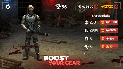 Zombie Arena: Fury Shooter Online APK النسخة المهكرة