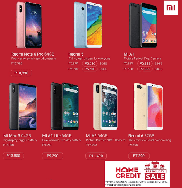Xiaomi Philippines Announces Pre-holiday Sale